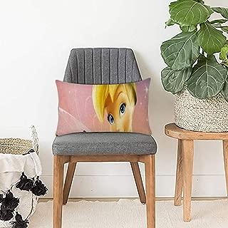 DISNEY COLLECTION Decorative Throw Pillow Decorative Throw Pillow Tinkerbell Wallpaper for Desktop 20 X 30 Inch