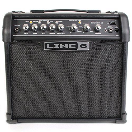 Line 6 Spider IV 15W Ampli Guitare 4 Modelisations