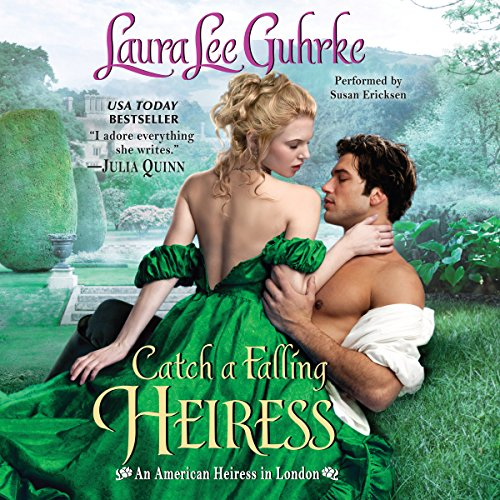 Catch a Falling Heiress audiobook cover art