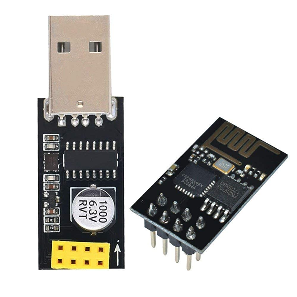 異なる激怒トーンAideepen USB to ESP8266 CH340Gプログラマ?アダプタ、ESP01シリアル?ワイヤレス?ワイヤレス?トランシーバ開発ボード?モジュール、Arduino用