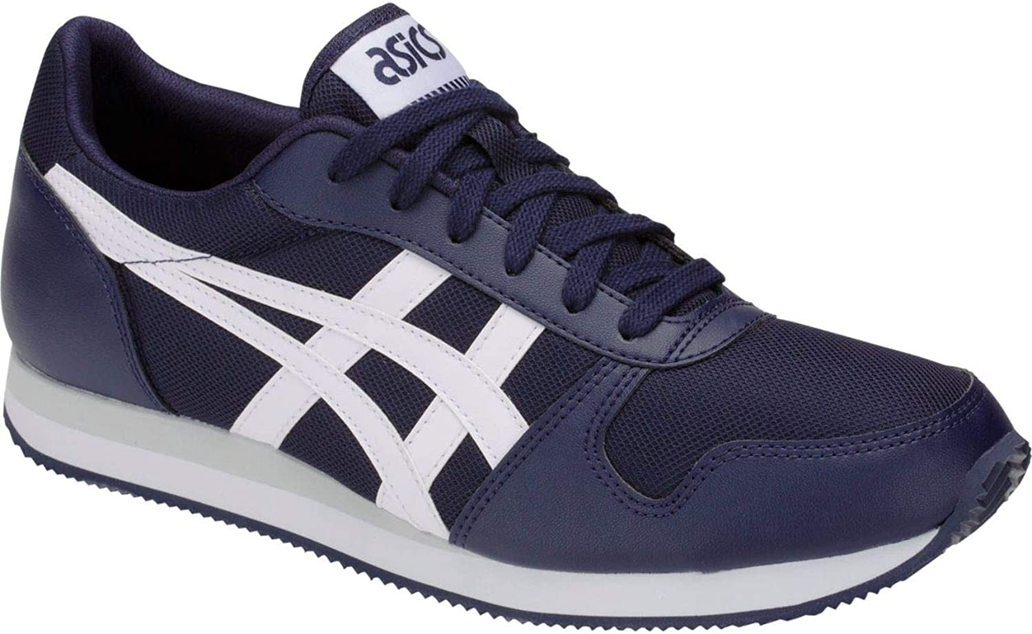 ASICS Curreo 2 Trainers in Navy and White