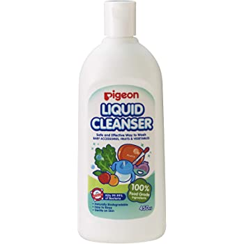 Pigeon Liquid Cleanser for Nursing Products, 450ml