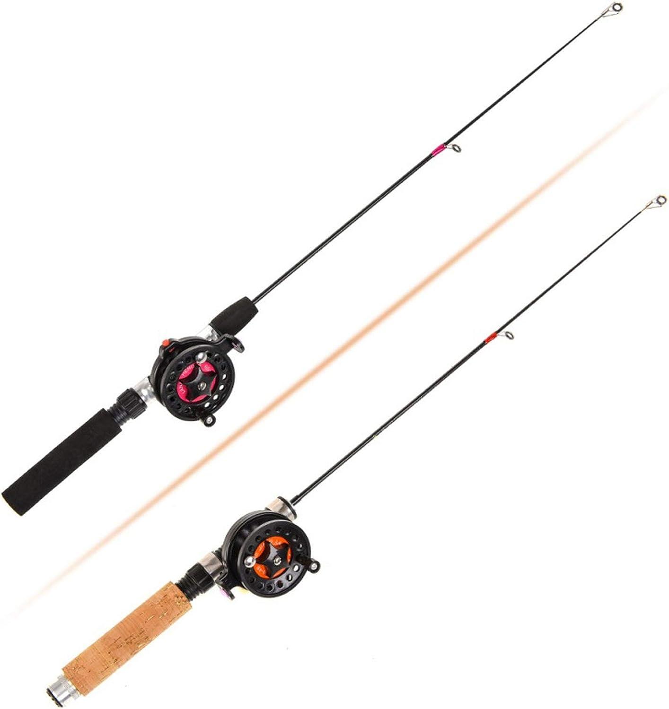 Ice Ice Ice Fishing Rod (Reel) Winter Super Short Fiber Lightweight
