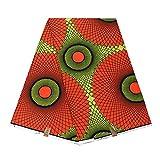 Realwax Hot Selling 100% Cotton Fabric African Wax Clothing Wax African Wax for Wedding Dress Ankara Print Fabric 24FS1367
