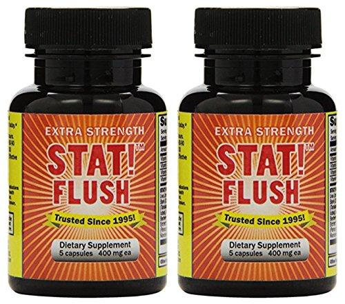 Stat Flush 5 Capsules (Flush, Pack of 2)