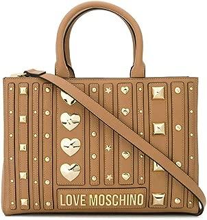 Luxury Fashion | Love Moschino Womens JC4238PP08KF0201 Beige Handbag | Fall Winter 19
