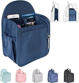 VANCORE リュックインナーバッグ 自立 バッグインバッグ ナイロン超軽 収納バッグ レディース メンズ バックインバック 縦型 ポケット多い