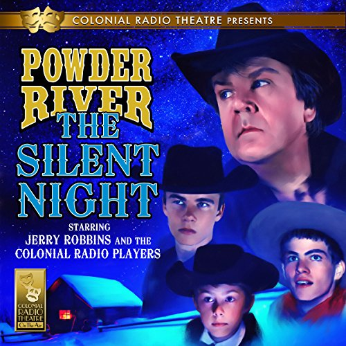 Powder River: The Silent Night audiobook cover art