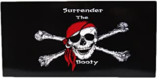 K's Novelties Jolly Roger Pirate Surrender The Booty Decal Sticker