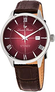 Lucien Piccard Automatic Red Dial Men's Watch LP-1881A-05