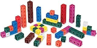 Hand2mind Linking Snap Cubes, Math Manipulative 100-Pieces Set