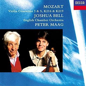 Mozart: Violin Concertos Nos. 3 & 5; Adagio K.261; Rondo K.373