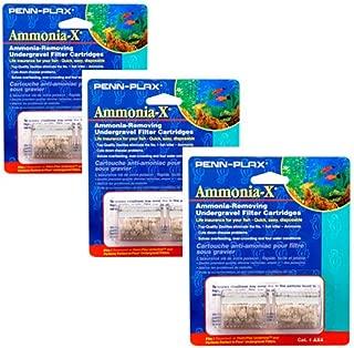 Penn Plax Undertow & Perfect-A-Flow Ammonia-X Undergravel Filter Cartridge, 6-Pack