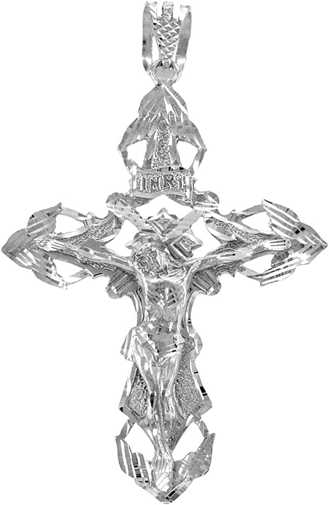 Religious Jewelry by FDJ OFFicial store Solid depot 925 Extra Silver Large Sterling H