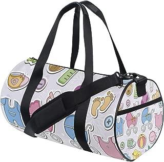 Baby Items Gym bag,Gym duffle bag, Duffle Bag,Sport bag,Carry On for Men Women, Durable Handle Luggage Bag for gym, sport,travel