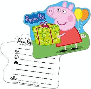 Amazon Es Peppa Pig Invitaciones Artículos De Fiesta