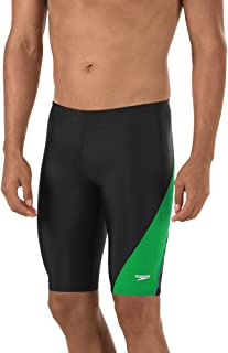 Speedo Men's PowerFLEX Eco Revolve Splice Jammer Swimsuit