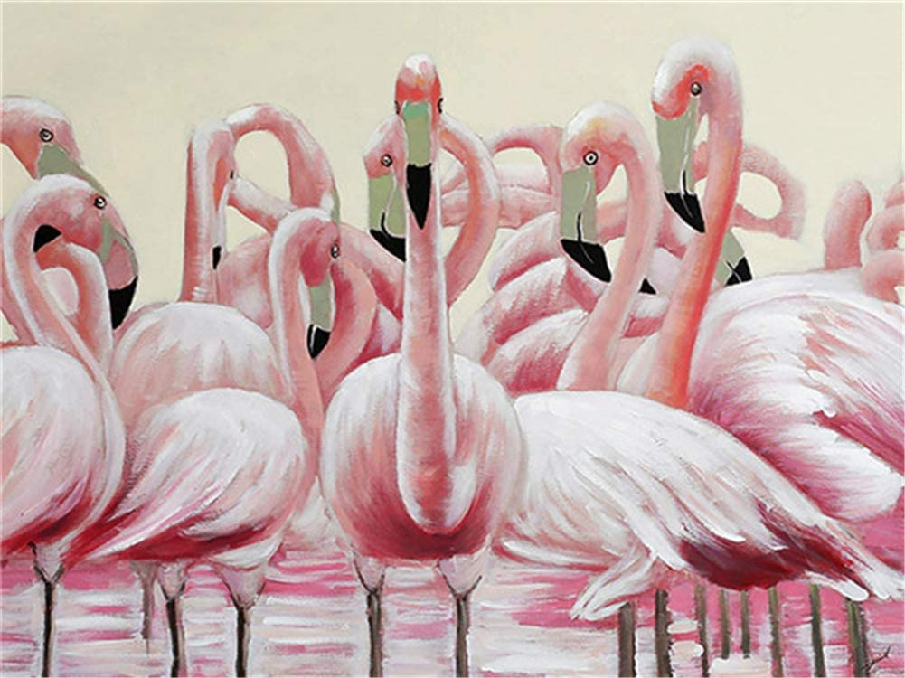 Diamond Painting Choice Kits Flamingo 70x180cm San Antonio Mall Diam 28x72inch Large 5D