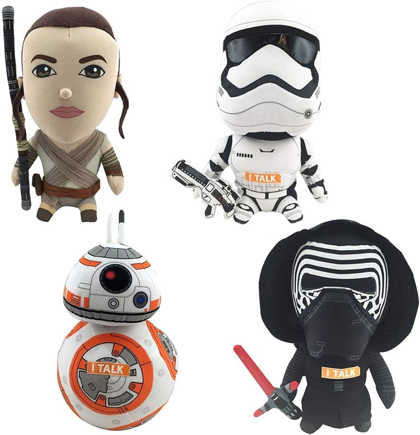 garantizado Juguetenk Estrella Wars 9  Talking Plush Bundle Set of of of 4  compras de moda online