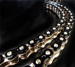 EK Motor Sport 525 Z 3D Premium Chain - 120 Links - Black/Gold