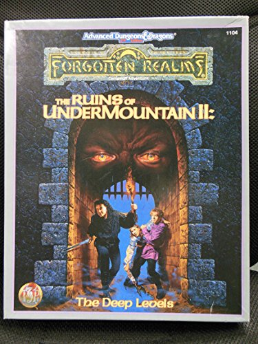 The Ruins of Undermountain II: The Deep Levels (FORGOTTEN REALMS CAMPAIGN ADVENTURE)