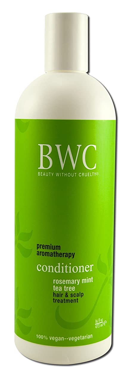 粘り強い放置電池Beauty Without Cruelty Rosemary Mint Tea Tree Conditioner 450 ml