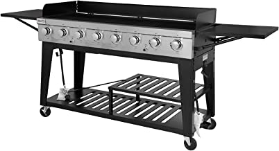 Best 8 burner grill with lid Reviews