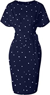 Women's 50s 60s Vintage Sexy Fitted Office Pencil Dress