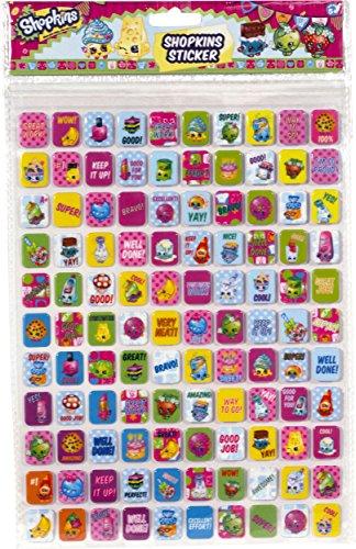 Shopkins Sticker Sheet Toy