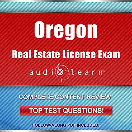 Oregon Real Estate License Exam AudioLearn  By  cover art