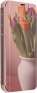 Cover Samsung Galaxy S10 Plus Flip Clear View Standing Custodia Samsung Galaxy S10 Plus Mirror Portafoglio Lusso Elegante ...