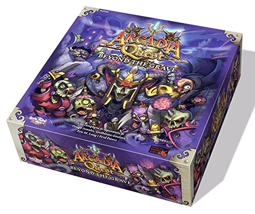 Asmodee 8901 - Arcadia Quest Beyond The Grave, Edizione Italiana