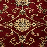 Teppich Orientteppich Wohnzimmer Klassische Optik Orientalisch Ornamente Rot, Maße:200 cm x 290 cm - 6