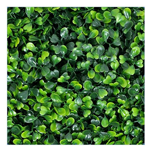 EJOY e-Joy 12 Piece Artificial Topiary Hedge Plant Privacy Fence Screen Greenery Panels Suitable for Both Outdoor or Indoor, Garden or Backyard and Home Decorations, Boxwood 20'' L x 20'' H