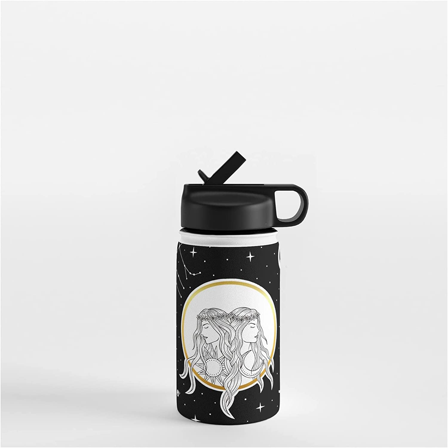 Over item handling Society6 Gemini Horoscope Collection by on Vickn Nashville-Davidson Mall Bottle Water