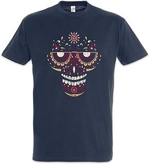 Urban Backwoods Sugar Skull Face Camiseta De Hombre T-Shirt