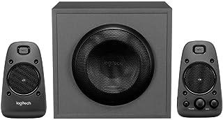 Logitech Z625 Sistema de Altavoces 2.1 Subwoofer, THX, 400W de Pico, Graves Profundos, Entrada Óptica 3.5 mm/RCA, Enchufe ...