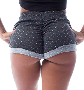 Girl big ass in boy shorts Aurgelmir Women S Ruched Butt Lounge Booty Shorts Camouflage Print Drawstring Workout Yoga Hot Pants At Amazon Women S Clothing Store