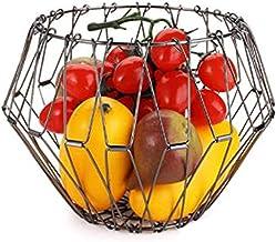Niguleser Panier à Fruits, Organisateur de Rangement de Cuisine Créatif pour la Maison, Conteneur de Fruits, Décoration d'...