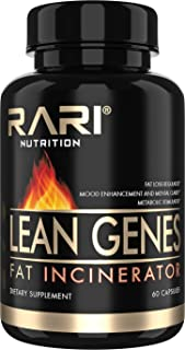 RARI Nutrition - Lean Genes Fat Burner - Natural Fat Burner and Appetite Suppressant Weight Loss Pills for Men and Women -...