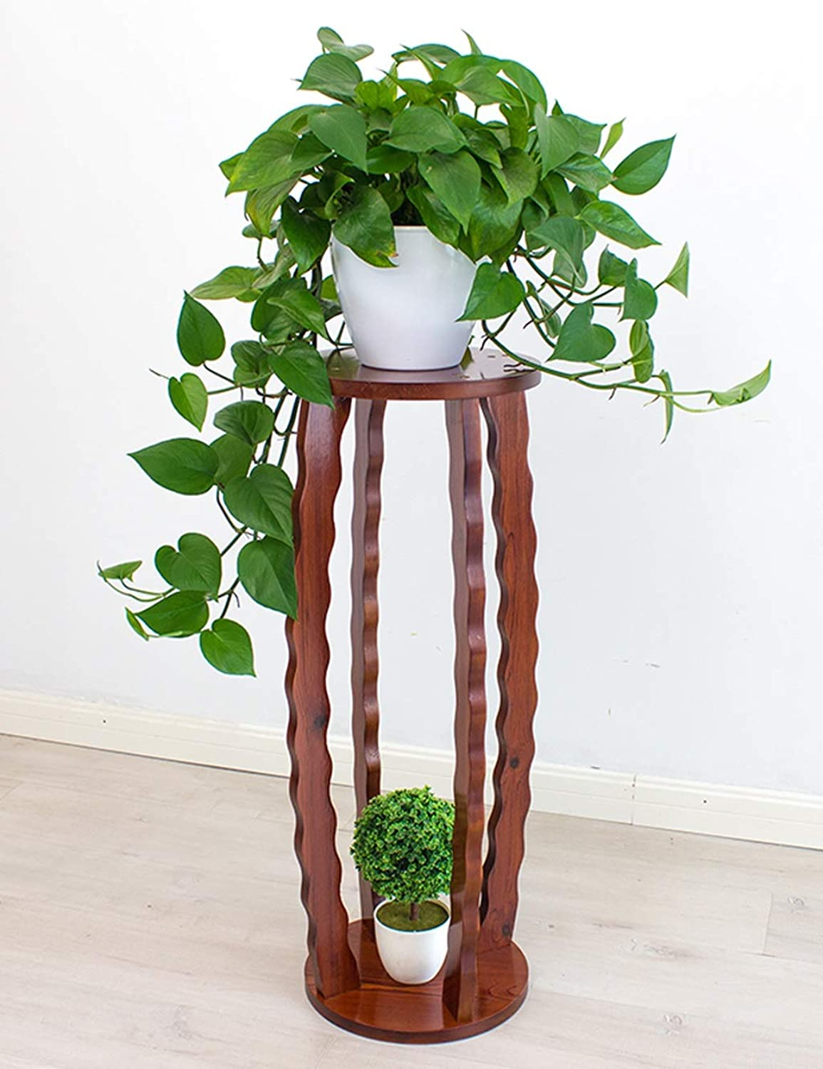 Flower Stand Solid Wood Indoor Multi-Function Living Room Bedroom Corridor Plant Potted Green Plant Balcony Plant Stand