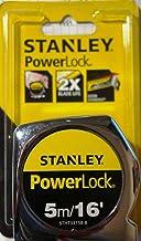 Stanley Power lock Tape Measure, 5M/16 Inch