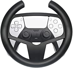 Volante de corrida dedicado adequado para controle sem fio de jogos PS5, TwiHill, volante redondo elegante, acessórios PS5