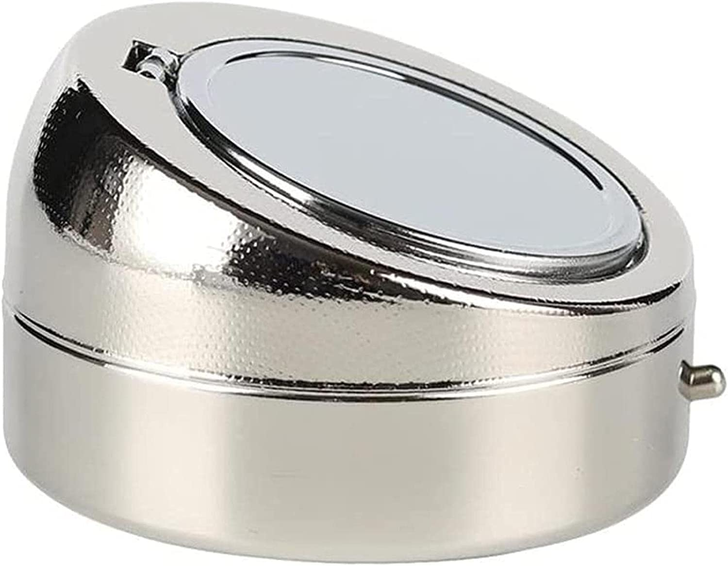 KMDJ Stainless Steel Car Ashtray Office Smokeless Portable Home Weekly update Inexpensive
