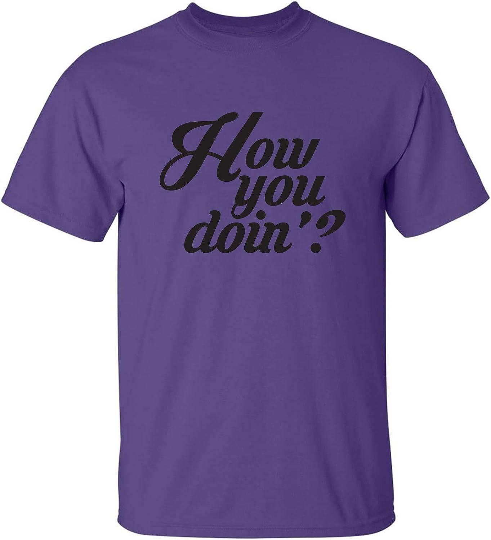 zerogravitee How You Doin? Adult Short Sleeve T-Shirt