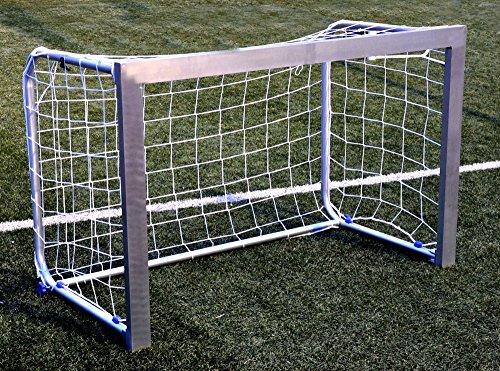Netsportique Porta da Calcio Mini in Alluminio- ***Super Resistente*** per Bambini E Adulti (1.2 X 0.8m)