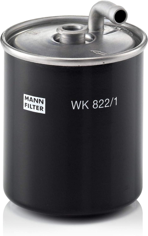 Original MANN-FILTER Filtro de Combustible WK 822/1 – Para automóviles