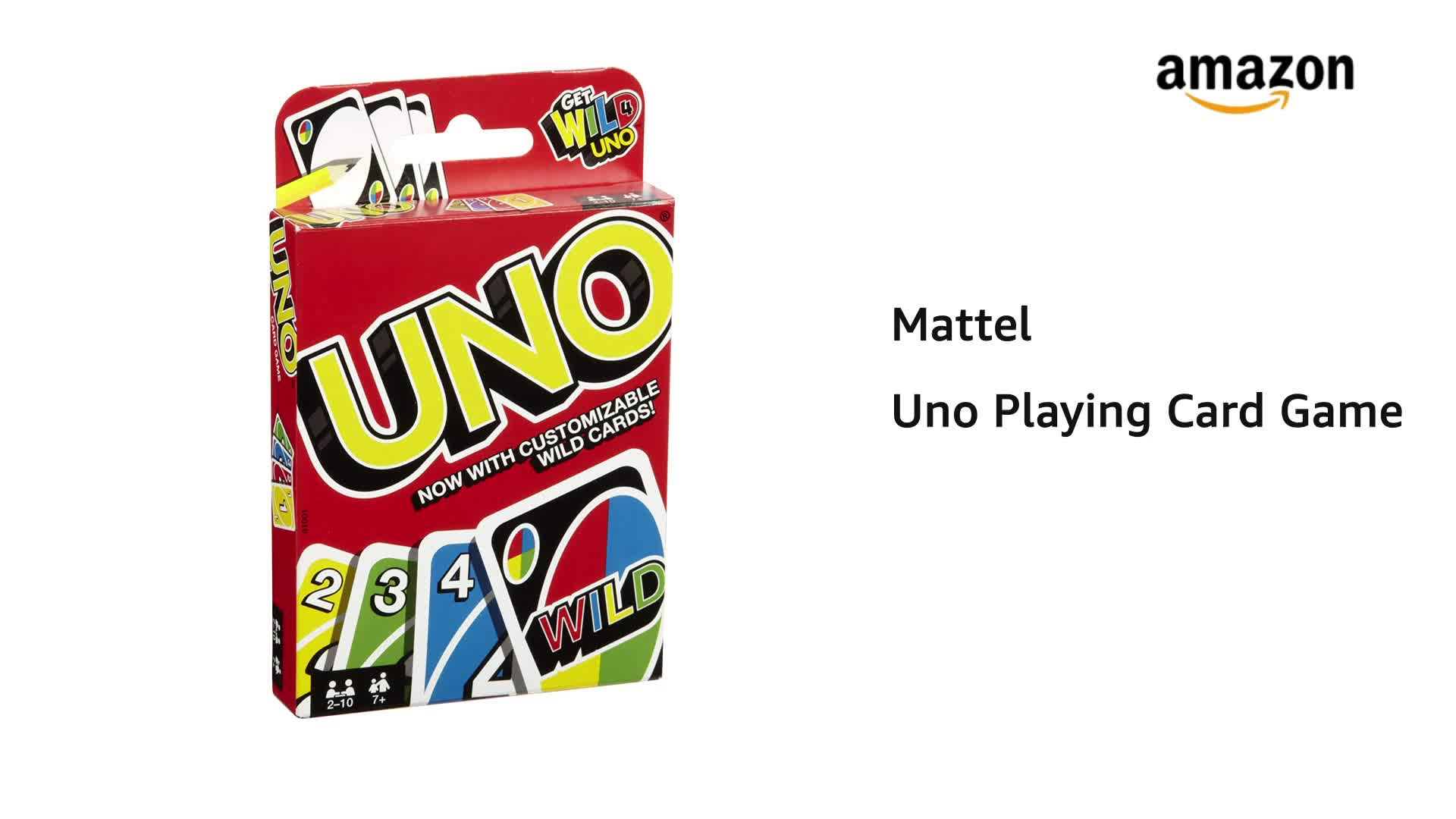 Buy Mattel Uno Playing Card Game Online At Low Prices In India Amazon In