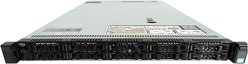 Dell PowerEdge R620 10-Bay SFF 1U Server, 2X Intel Xeon E5-2670 V2 2.5GHz 10C, 192GB DDR3, 10x 300GB 10K SAS 2.5, PERC H310, 10GbE, iDRAC 7 Express, 2X 750W PSUs, No Rails (Certified Refurbished)