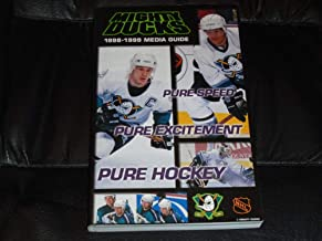 1998 1999 ANAHEIM MIGHTY DUCKS NHL HOCKEY PRESS MEDIA GUIDE NEAR MINT